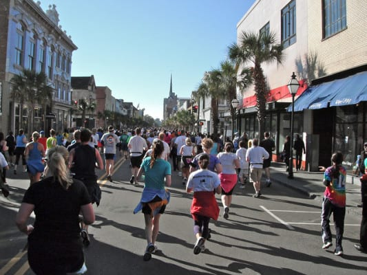 What it's like to run the streets of Charleston, S.C. (Photo by Brian Cribb/flickr)