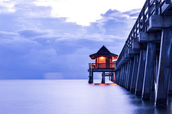 A view of the Naples Pier. (Photo by Pablo Tano/flickr)