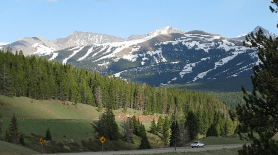 The view from Vail Pass, Colo. (Photo by Rob Pongsajapan/flickr)