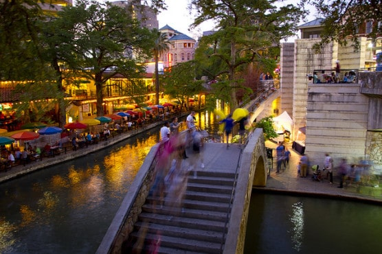 The San Antonio Riverwalk. (Photo by Stuart Seeger/flickr)