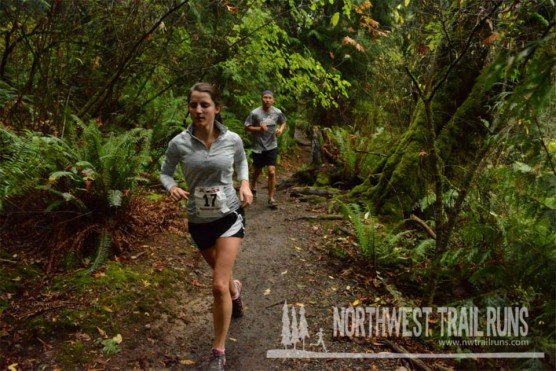 On the trails at the 2013 St. Edward Harvest Half. (Courtesy Northwest Trail Runs)