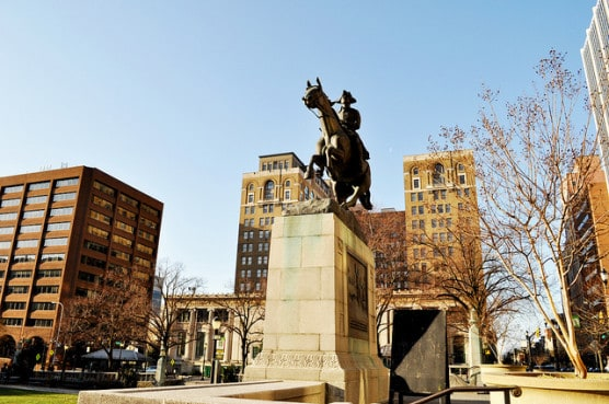 Rodney Square in Wilmington, Del. (Photo by Chris Connelly/flickr)