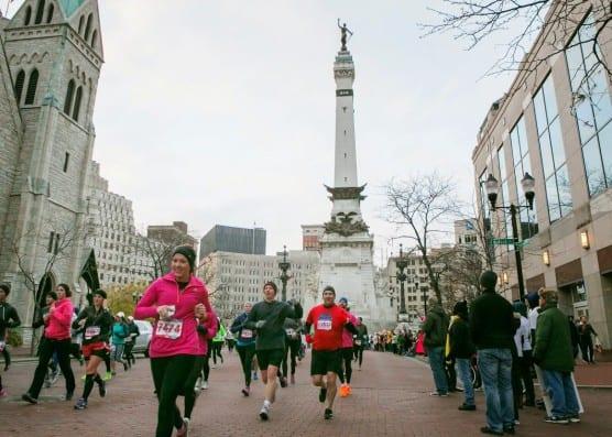 Courtesy Indianapolis Monumental Marathon.