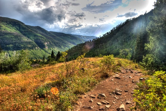 The Eagles Nest Wilderness Area in Vail, Colorado. (Photo by Hawthorne Ave/flickr)