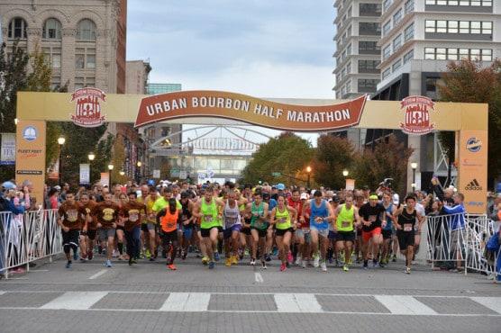 Urban Bourbon Half Marathon 2015