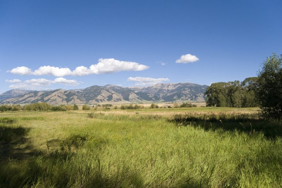 Scenic view of Bozeman, Montana. (Photo by Edward Blake/flickr)