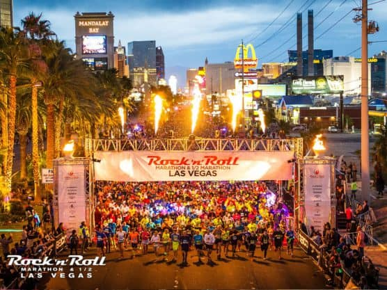 2017 Rock 'n' Roll Las Vegas Marathon Half In Nv: Rock And Roll Las Vegas Course Map At Infoasik.co
