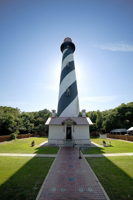 The St. Augustine Lighthouse. (Photo by Arturo Donate/flickr)