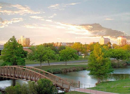 San Angelo Park in San Angelo, Texas.