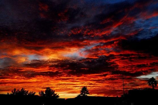 Sunset in Yuma, Ariz. (Photo by Christian Dory/flickr)