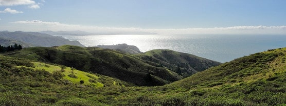 View from the Coast View Trail in Mount Tamalpais State Park. (Photo by Miguel Vieira/flickr)