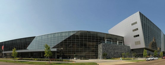 The Jackson Convention Complex, where the race begins. (Photo by Tate Nations/flickr)