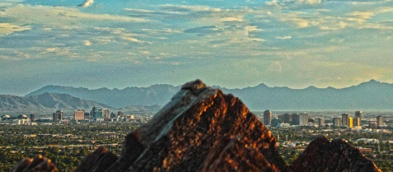 The Phoenix skyline. (Photo by Tyler Bolken/flickr)