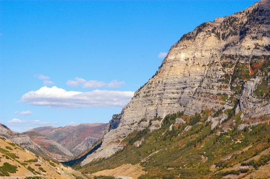 The spectacular view from Utah's Provo Canyon. (Photo by Eric Ward/Wikimedia)