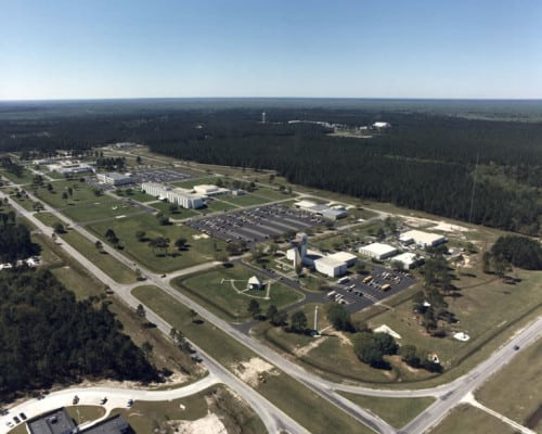 The Stennis Space Center. (Photo by NASA/Wikimedia)