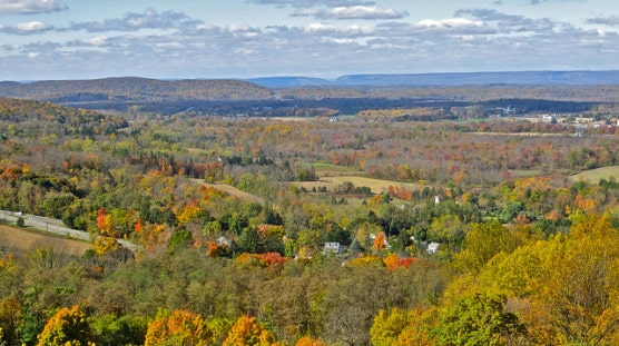 View of Allamuchy, N.J., from above. (Photo by ellenm1/flickr)