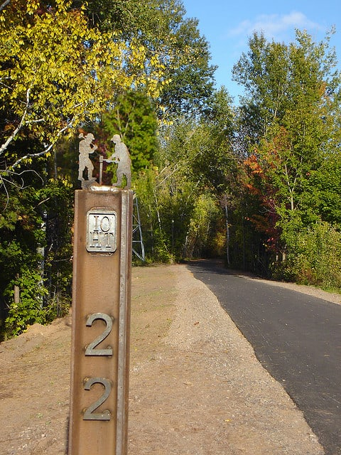 Along the Iron Ore Heritage Trail in Marquette County, Mich. (Photo by PaulTOlson/flickr)