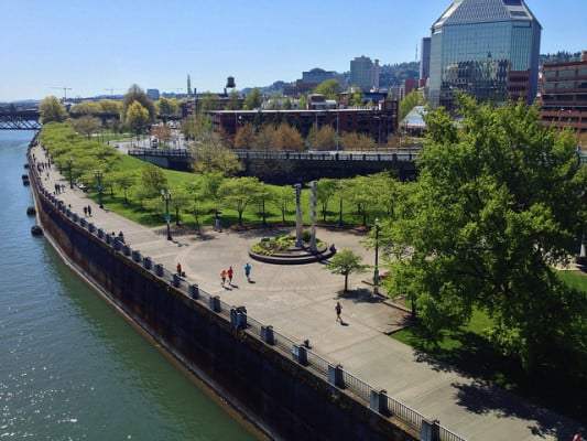 Tom McCall Waterfront Park in Portland, Oregon. (Photo by Justin Houk/flickr)