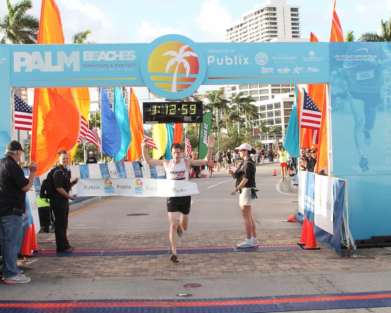 2019 Palm Beaches Marathon, Half Marathon, Relay & 5K in
