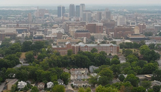 View of Birmingham, Ala., from atop Red Mountain. (Photo by Bill Blevins/flickr)
