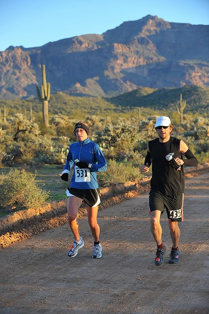 Runners in the 2010 Lost Dutchman Marathon. (Photo by John Roig/flickr)