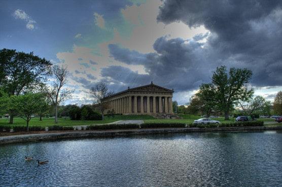The Parthenon in Nashville's Centennial Park. (Photo by Corey Butler/flickr)