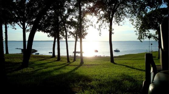 The shore of Lake Texoma. (Photo by John Purget/flickr)