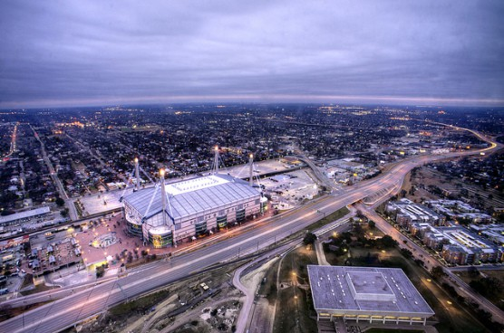 The San Antonio Alamodome. (Photo by Katie Haugland/flickr)