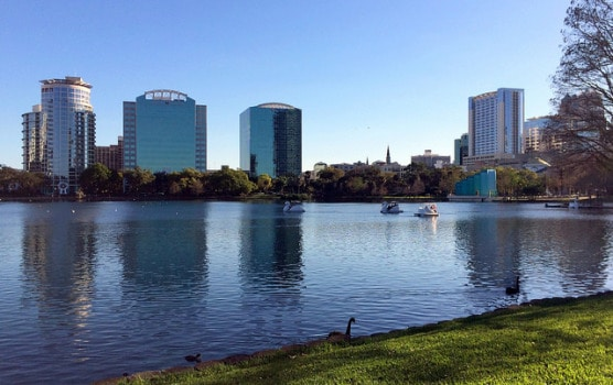 Lake Eola Park in Orlando, Fla. (Photo by Jared/flickr)