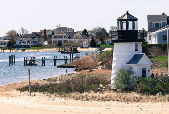 A lighthouse in Hyannis, Mass. (Photo by Martyn Smith/flickr)