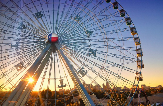 The State Fair of Texas fairgrounds in Dallas, Texas. (Photo by Robert Hensley/flickr)