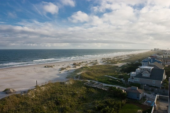 Wrightsville Beach, N.C., photographed in 2007. (Photo by Brian Leon/flickr)