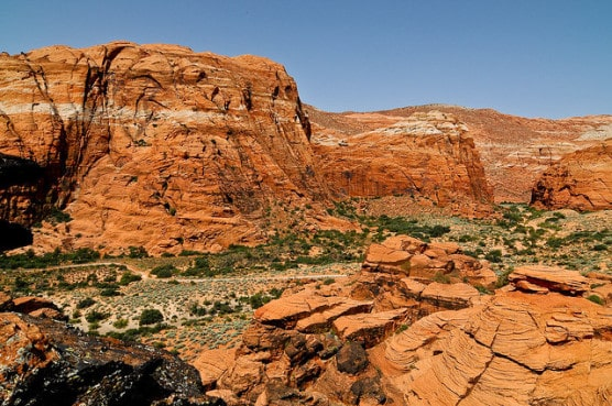 A view of Snow Canyon State Park near Washington, Utah. (Photo by John Buie/flickr)