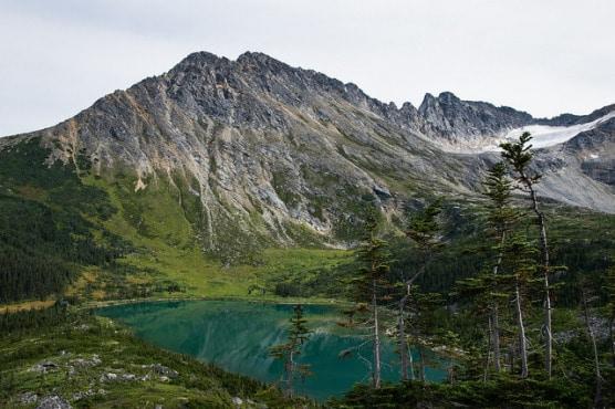 Upper Dewey Lake near Skagway, Alaska. (Photo by David Kobuszewski/flickr)