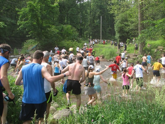 A scene from the 2011 Charlie Horse Half Marathon Trail Run. (Photo by Pagoda Pacers Athletic Club/flickr)