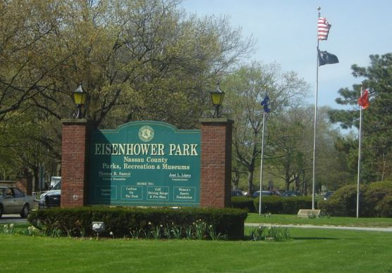 Eisenhower Park in East Meadow, New York. (Photo by Wikimedia)