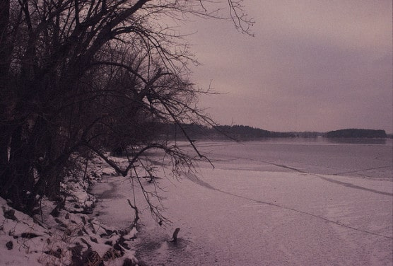 What Vadnais Lake in Vadnais Heights, Minnesota, can look like in winter. (Photo by James Cadwell/flickr)