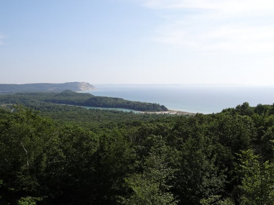Sleeping Bear Dunes National Lakeshore near Glen Arbor, Michigan. (Photo by Esther Westerveld/flickr)