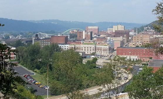 Downtown Wheeling, West Virginia. (Photo by Wikimedia)