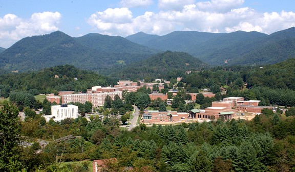 Western Carolina University in Cullowhee, North Carolina. (Photo by Wikimedia)