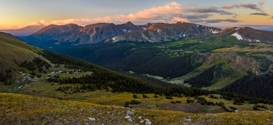 View of Rocky Mountain National Park from Trail Ridge Road. (Andrew E. Russell/flickr)