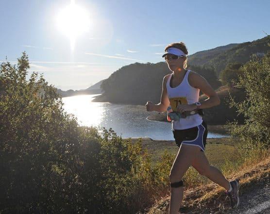 A runner treks the course at the 2012 Morgan Hill Half Marathon in Morgan Hill, Calif. (Photo by Joe Nuxoll/flickr)