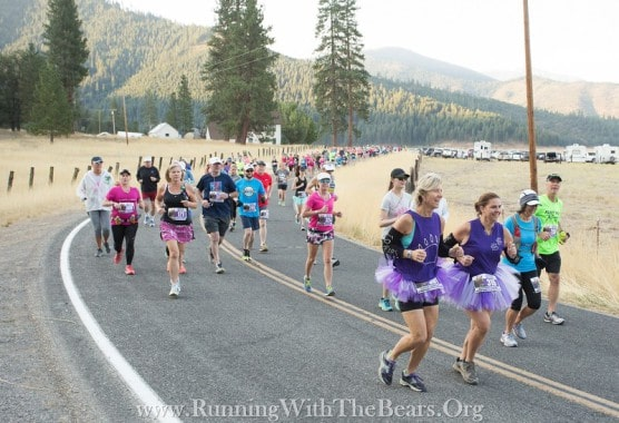 Photo courtesy Running With The Bears Marathon.