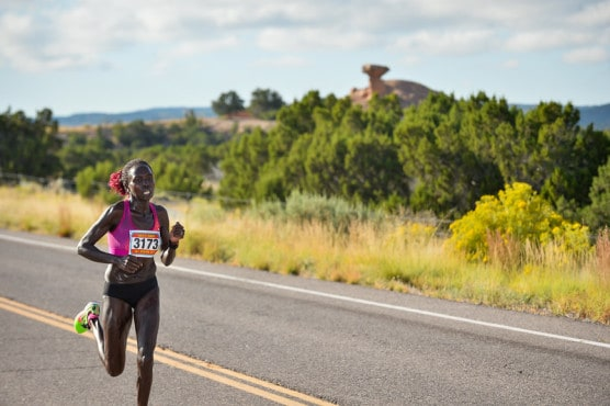 Photo courtesy Santa Fe Thunder Half Marathon.