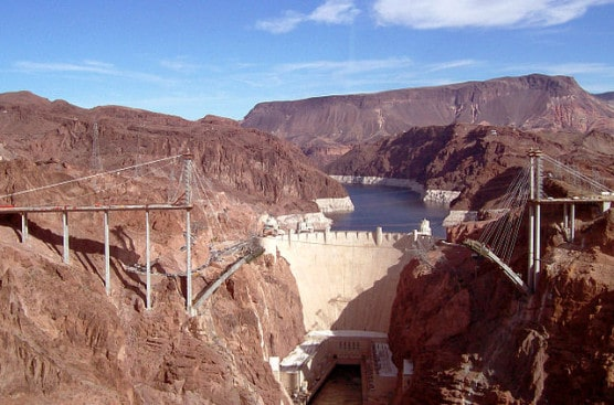 The Hoover Dam. (Photo by Stubbleboy/Wikimedia)