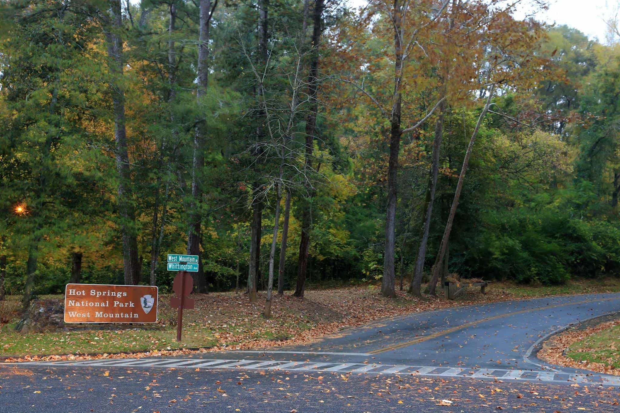 Spa 10K West Mountain Drive Entrance