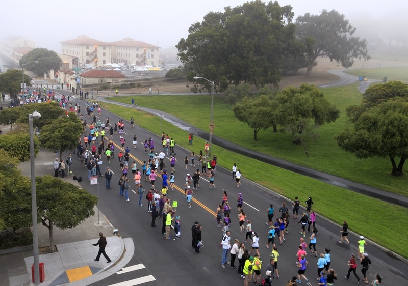 Sunday marks the 41st annual San Francisco Marathon. Up to 27, participants are expected eat carbs, sport their fines athleisure, and take to the streets. For those of us not partaking in the.