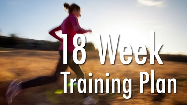 18 Week Half Marathon Training Schedule