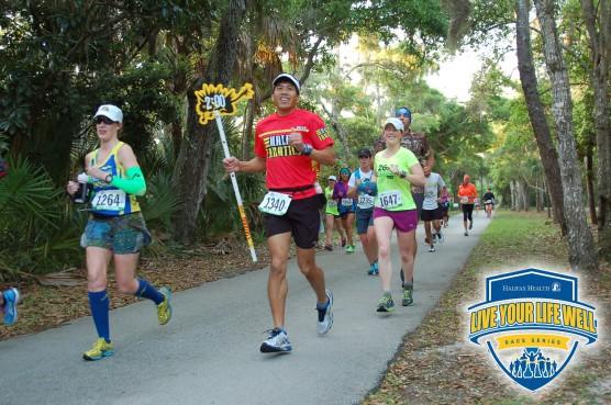 Tomoka Half Marathon Pace Runners