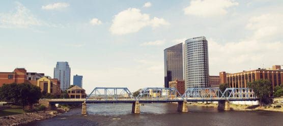 Downtown Grand Rapids, Mich. (Photo by Justin Razmus/flickr)